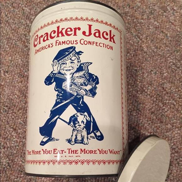CrackerJack Tin Vintage 1980